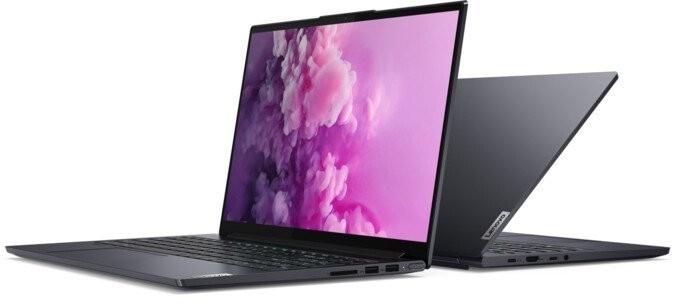 """Pre náročných/Profi Notebook Lenovo YOGA Slim 7 15.6"""" i7 16GB, SSD 512GB, 82AA001BCK"""
