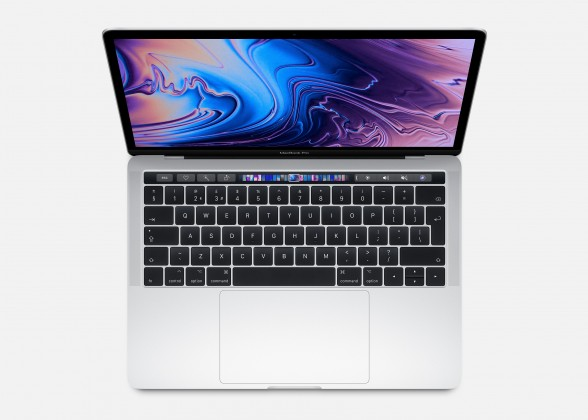 """Pre náročných/Profi Notebook MacBook Pro 13"""" Touch Bar i5 8GB, SSD 256GB - Silver"""
