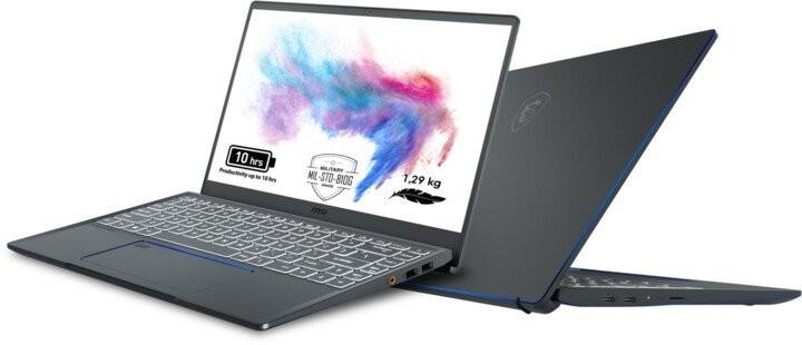 Pre náročných/Profi Notebook MSI Prestige 14 A10RAS-084CZ i7 16GB, SSD 512GB