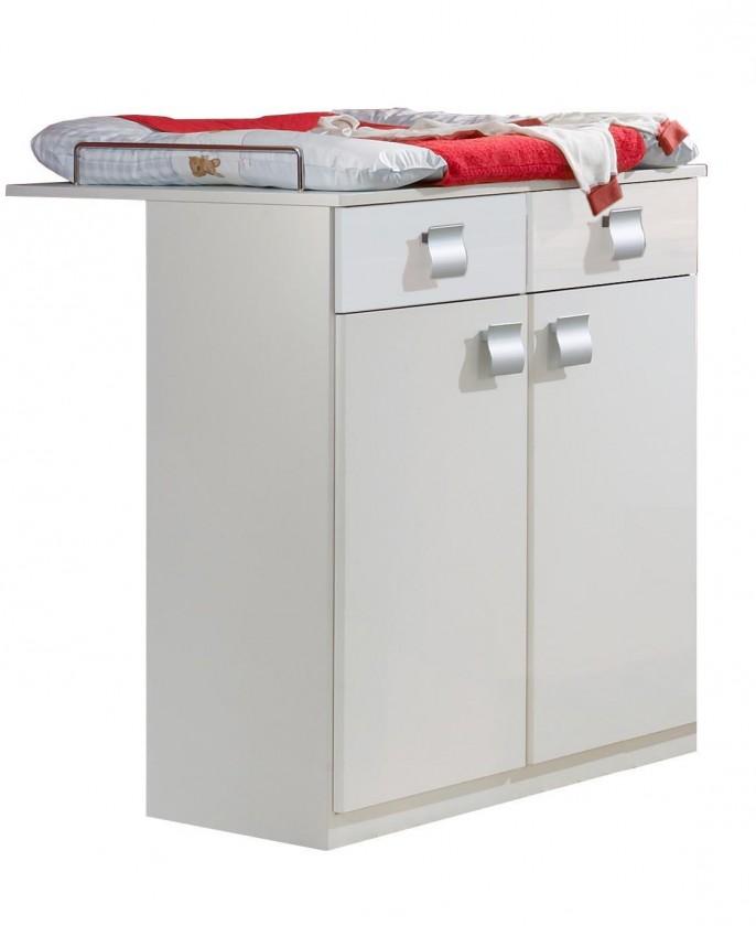 Prebaľovaci pult Jette - 320221 (alpská biela)