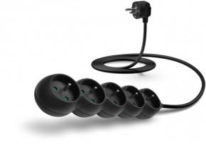 Predlžovací kábel Connect IT, 5xzásuvka, 2m, čierny