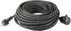 Predlžovací kábel Emos P01710, 1xzásuvka, 10m, čierny