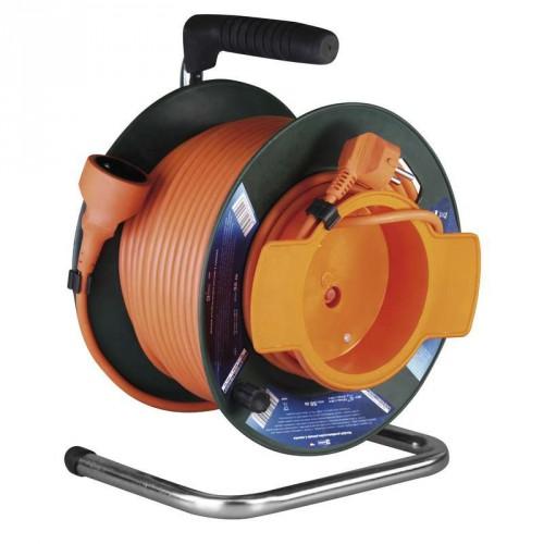 Predlžovací kábel na bubne Emos P19150, 1xzásuvka, 50m, spojka