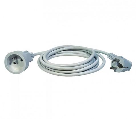 Predlžovačka Predlžovací kábel Emos P0111, 1xzásuvka, 1,5m, biely
