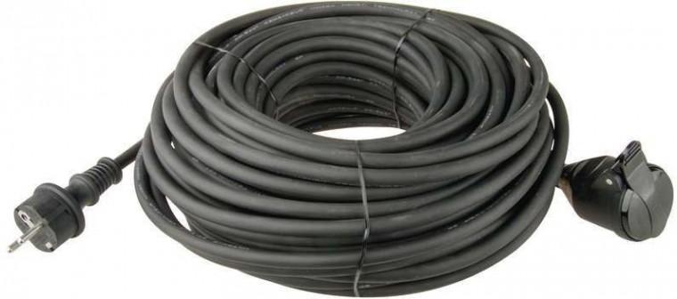 Predlžovačka Predlžovací kábel Emos P01710, 1xzásuvka, 10m, čierny