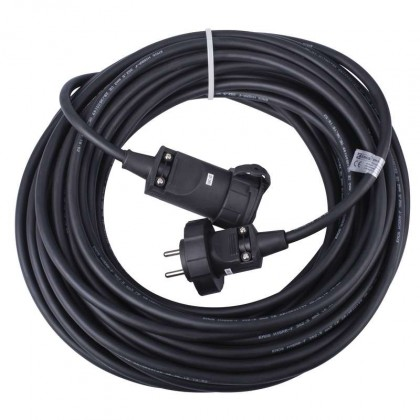 Predlžovačky EMOS Prodlužovací kabel gumový 20m 2,5mm PM1011