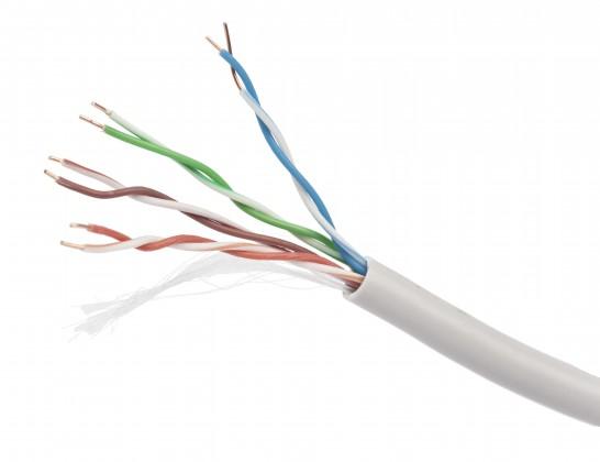 Predlžovačky Gembird UPC-5004E-SO kábel drát, CAT5E, UTP, LSOH, 305m/box
