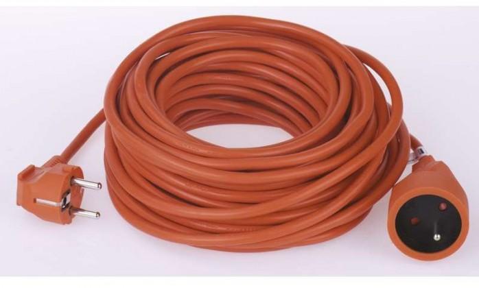 Predlžovačky Predlžovací kábel 15m oranžový