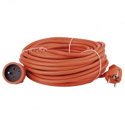 Predlžovačky Predlžovací kábel 20m oranžový