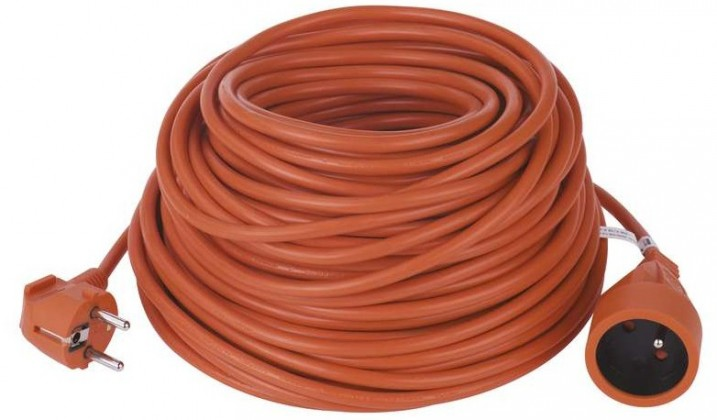 Predlžovačky Predlžovací kábel 30m oranžový
