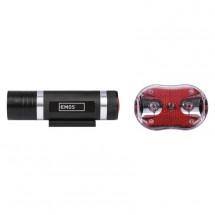 Predné + zadné svietidlo na bicykel Emos P3920, LED, 5x AAA