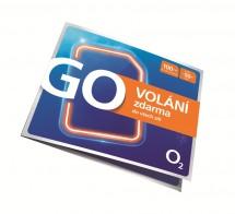 Předplacená karta O2 GO VOLÁNÍ zdarma