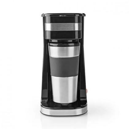 Prekvapkávacie kávovary Kávovar Nedis KACM300FB, čierny
