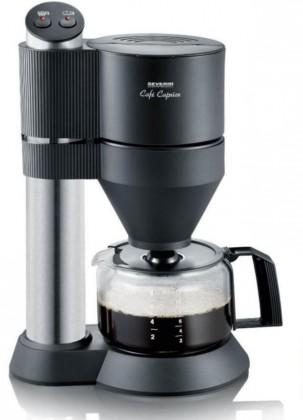Prekvapkávacie kávovary Kávovar Severin KA5703, čierna / nerez