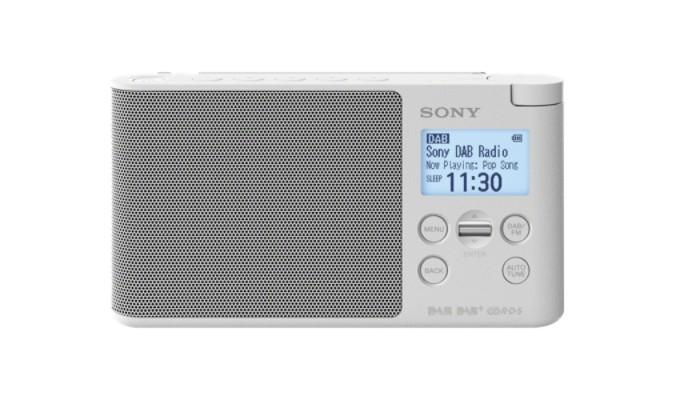 Prenosné DAB rádio SONY XDR-S41DW