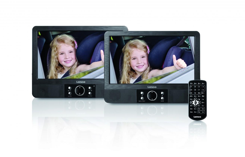 Prenosný DVD prehrávač Cestovný DVD prehrávač Lenco MES-405 POŠKODENÝ OBAL