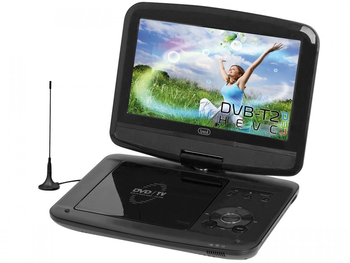 Prenosný DVD prehrávač Prenosný DVD prehrávač Trevi DVBX 1418HE