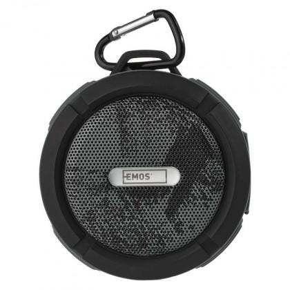 Prenosný reproduktor Bluetooth reproduktor EMOS Freestyler, sivý