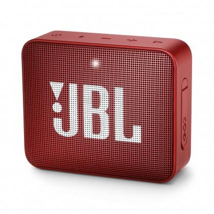 Prenosný reproduktor Bluetooth reproduktor JBL GO 2, červený