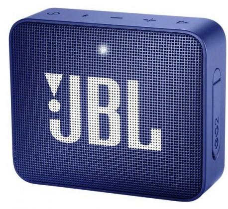 Prenosný reproduktor Bluetooth reproduktor JBL GO 2, modrý