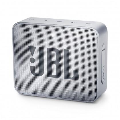 Prenosný reproduktor Bluetooth reproduktor JBL GO 2, sivý