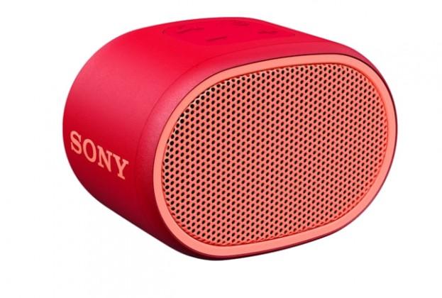 Prenosný reproduktor Bluetooth reproduktor Sony SRS-XB01, červený