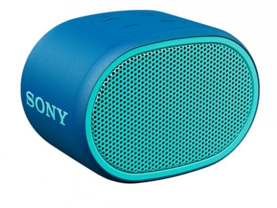 Prenosný reproduktor Bluetooth reproduktor Sony SRS-XB01, modrý