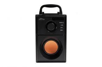 Prenosný reproduktor MediaTech BoomBox BT MT3145, čierna