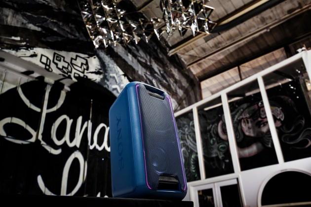 Prenosný reproduktor Party systém SONY GTK-XB5 Modrý