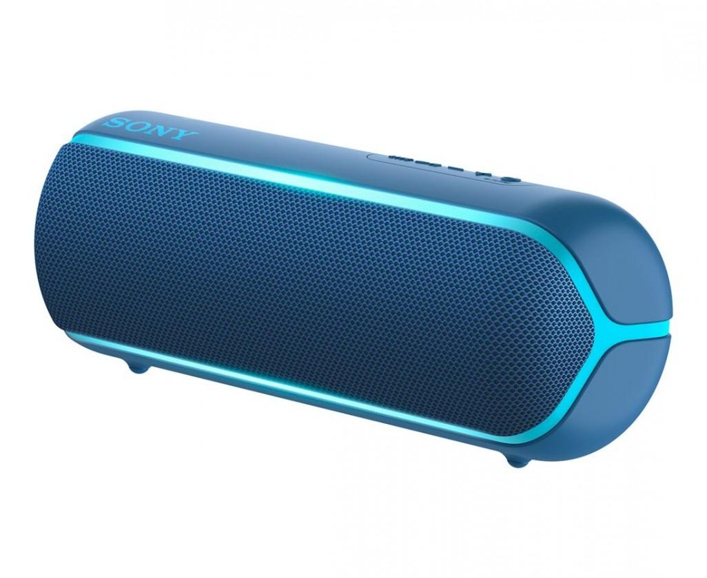 Prenosný reproduktor Prenosný reproduktor Sony SRS-XB22, modrý