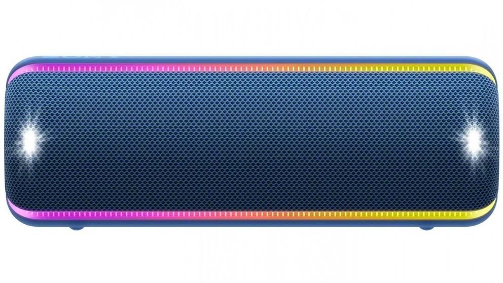 Prenosný reproduktor Prenosný reproduktor Sony SRS-XB32, modrý