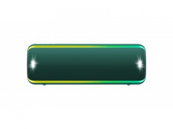 Prenosný reproduktor Prenosný reproduktor Sony SRS-XB32, zelený
