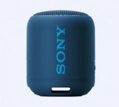 Prenosný reproduktor Sony SRS-XB12, modrý