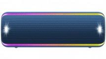 Prenosný reproduktor Sony SRS-XB32, modrý