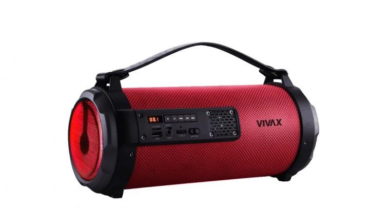 Prenosný reproduktor Vivax Bluetooth Reproduktor BS-101 Red