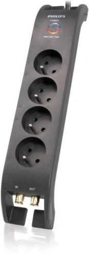 Prepäťová ochrana Philips SPN5044B19, 4 zásuvky, 2m