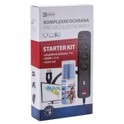 Prepäťové ochrany Štartovacia sada k TV EMOS STARTER KIT II