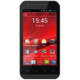 Prestigio MultiPhone PAP4040DUO, černý