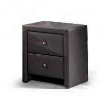 Prima - Nočný stolík (čierna)