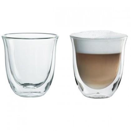 Príprava nápojov Skleničky na kávu DeLonghi Cappuccino