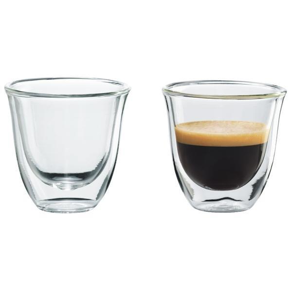 Príprava nápojov Skleničky na kávu DeLonghi Espresso