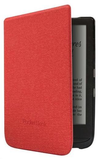 Príslušenstvo k čítačkám Puzdro na čítačku kníh PocketBook 616, 627, 632, červená