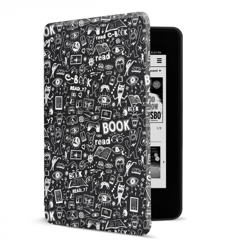 Príslušenstvo k čítačkám Puzdro pre Amazon Kindle Paperwhite 4, doodle
