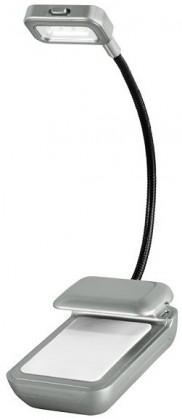 Príslušenstvo k čítačkám Texet TBL-2201T LED lampička, strieborná