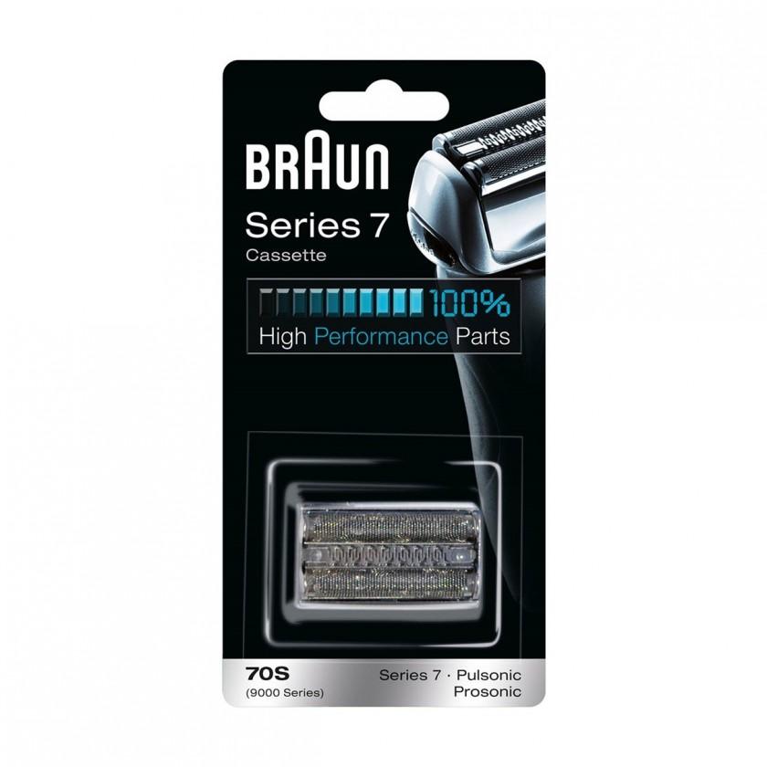 Príslušenstvo k holiacim strojčekom Náhradná holiaca hlava Braun CombiPack Series7 - 70S