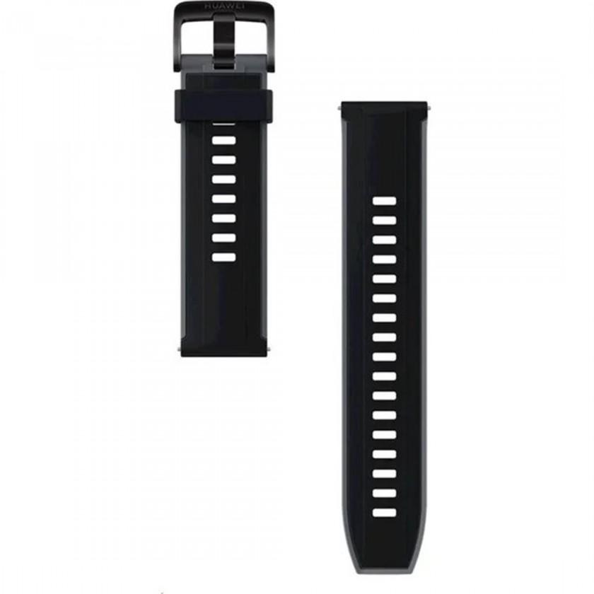 Príslušenstvo k nositelnej elektronike Remienok Huawei, š. 22mm, silikón, čierna