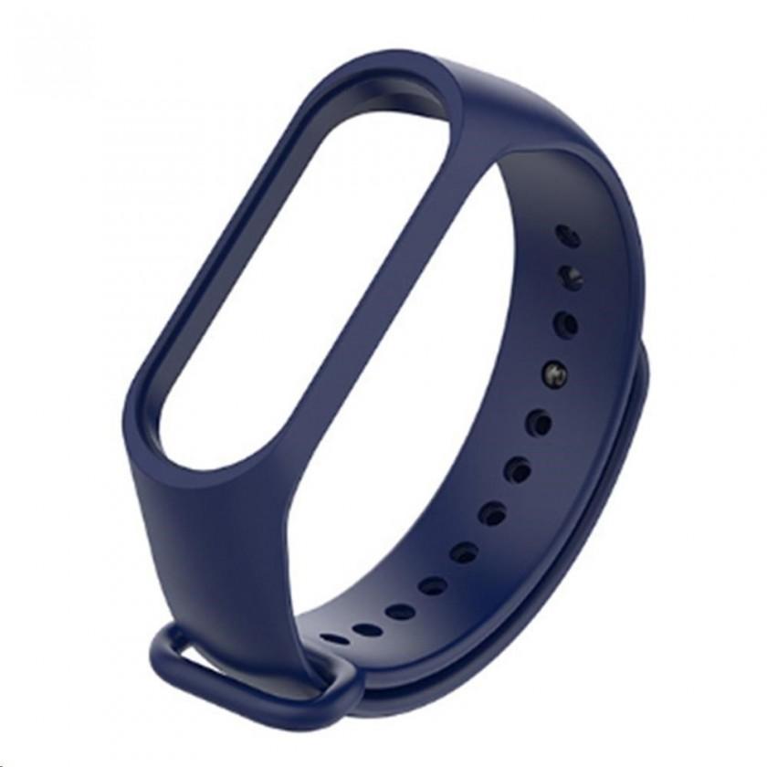 Príslušenstvo k nositelnej elektronike Remienok pre Xiaomi MI BAND 3 STRAP, modrá