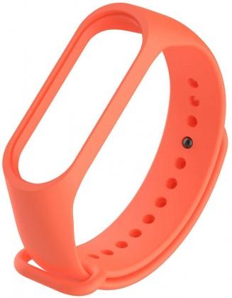 Príslušenstvo k nositelnej elektronike Remienok pre Xiaomi MI BAND 3 STRAP, oranžová