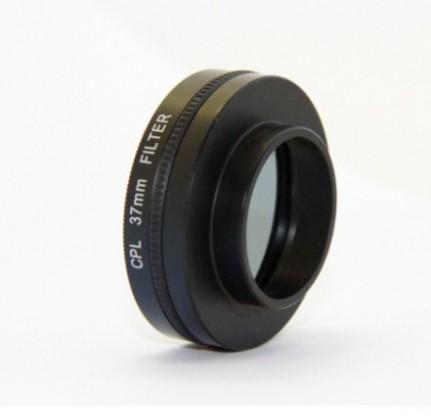 Príslušenstvo k outdoor kamerám Apei Outdoor CPL Filter & Lens 37mm for GoPro 4/3+/3