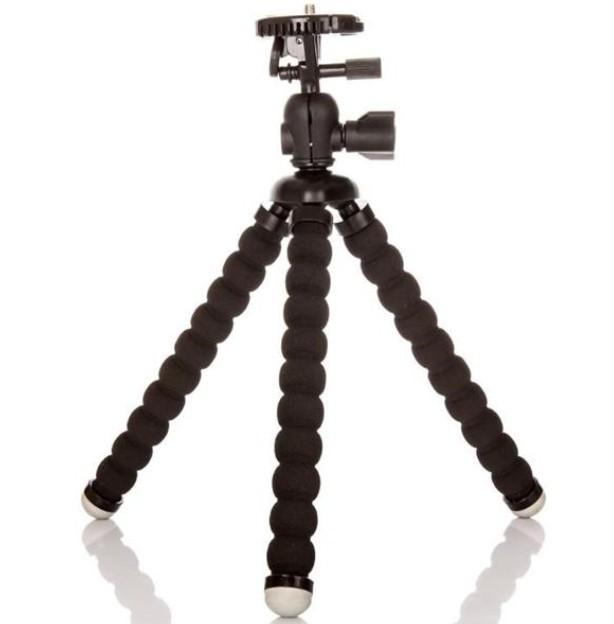 Príslušenstvo k outdoor kamerám MadMan Flexibilní stativ střední černý